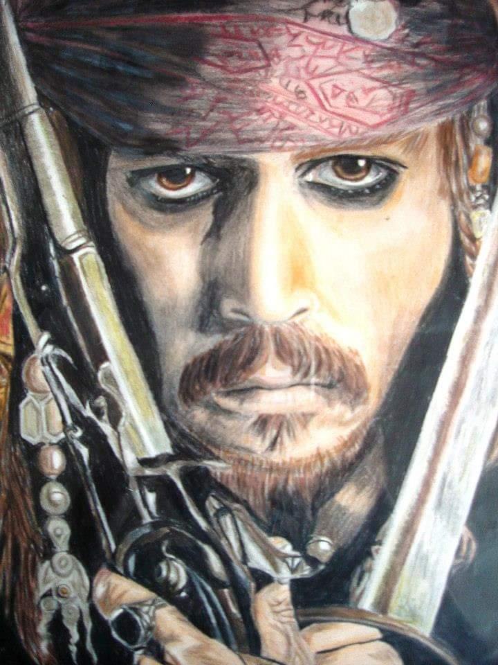 Johnny Depp par flaiss